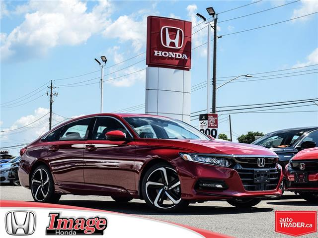 2019 Honda Accord Sport 1.5T (Stk: 9A176) in Hamilton - Image 1 of 18