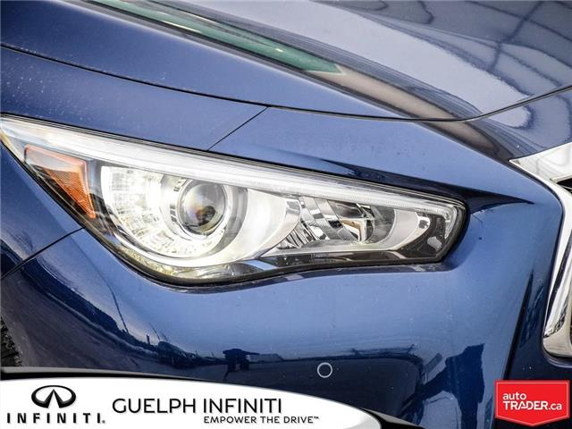 2019 Infiniti Q50 3.0t Red Sport 400 (Stk: I6901) in Guelph - Image 3 of 21