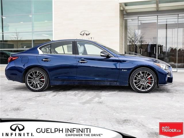 2019 Infiniti Q50 3.0t Red Sport 400 (Stk: I6901) in Guelph - Image 4 of 21