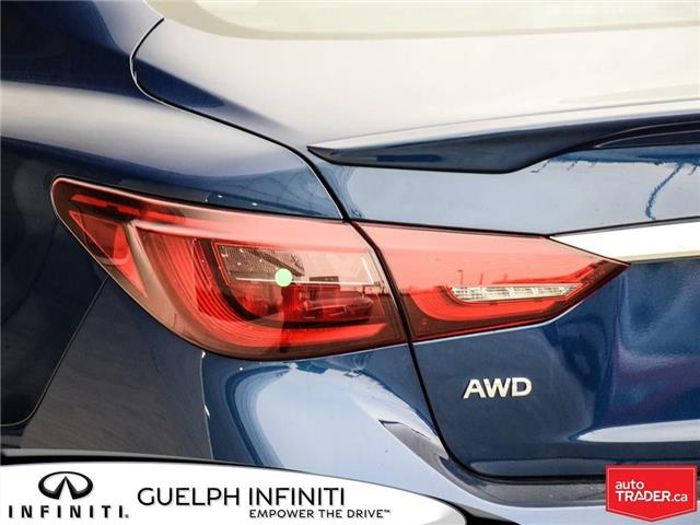 2019 Infiniti Q50 3.0t Red Sport 400 (Stk: I6901) in Guelph - Image 7 of 21