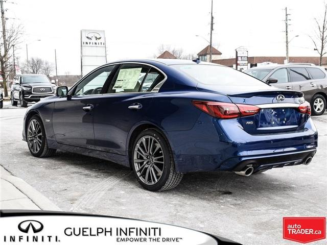 2019 Infiniti Q50 3.0t Red Sport 400 (Stk: I6901) in Guelph - Image 8 of 21