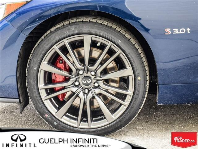2019 Infiniti Q50 3.0t Red Sport 400 (Stk: I6901) in Guelph - Image 9 of 21