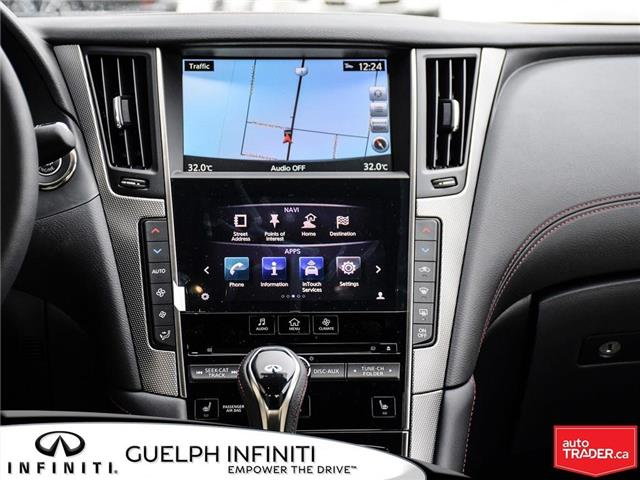 2019 Infiniti Q50 3.0t Red Sport 400 (Stk: I6901) in Guelph - Image 16 of 21