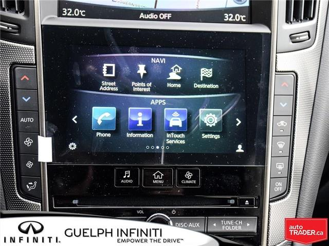 2019 Infiniti Q50 3.0t Red Sport 400 (Stk: I6901) in Guelph - Image 17 of 21
