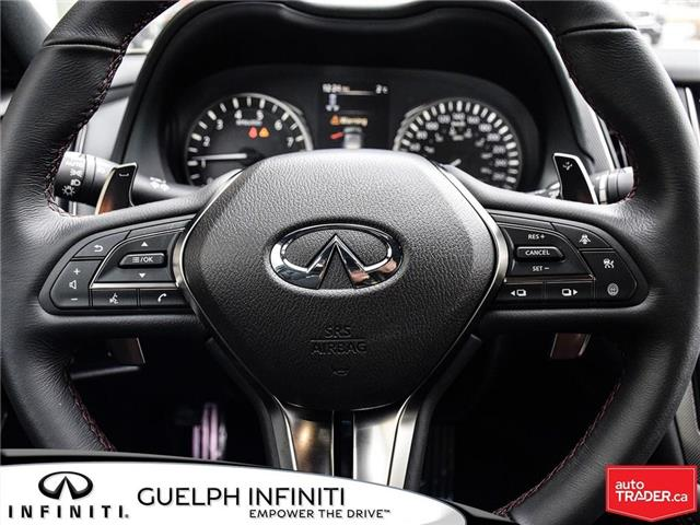 2019 Infiniti Q50 3.0t Red Sport 400 (Stk: I6901) in Guelph - Image 20 of 21