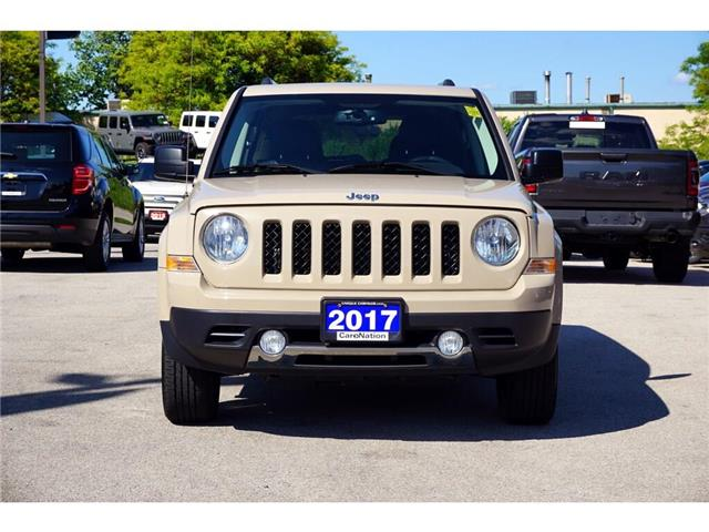 2017 Jeep Patriot HIGH ALTITUDE| 4X4| NAV| LEATHER| SUNROOF & MORE (Stk: K830A) in Burlington - Image 2 of 44
