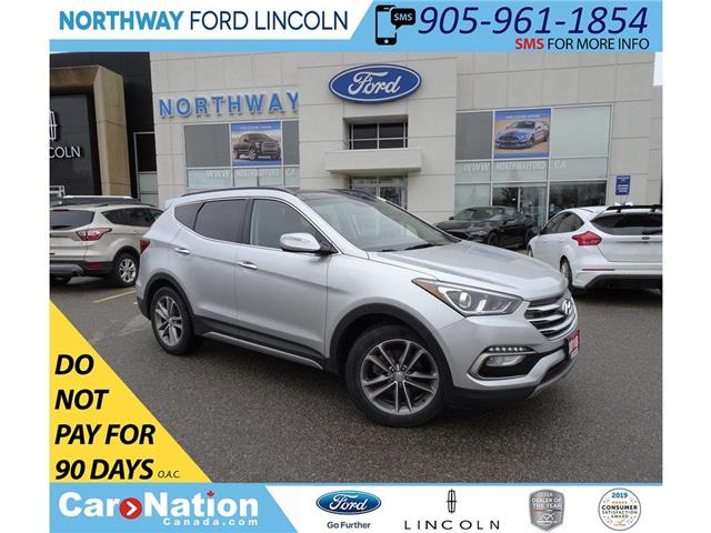 2018 Hyundai Santa Fe Sport Limited | AWD | NAV |LEATHER | PANOROOF | TURBO (Stk: DR135) in Brantford - Image 1 of 49