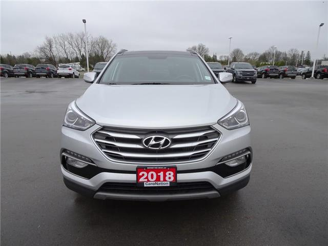 2018 Hyundai Santa Fe Sport Limited | AWD | NAV |LEATHER | PANOROOF | TURBO (Stk: DR135) in Brantford - Image 2 of 49