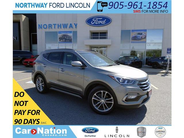 2018 Hyundai Santa Fe Sport Limited | AWD | HTD LEATHER | PANOROOF | TURBO | (Stk: DR195) in Brantford - Image 1 of 46