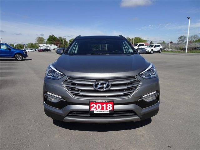 2018 Hyundai Santa Fe Sport Limited | AWD | HTD LEATHER | PANOROOF | TURBO | (Stk: DR195) in Brantford - Image 2 of 46