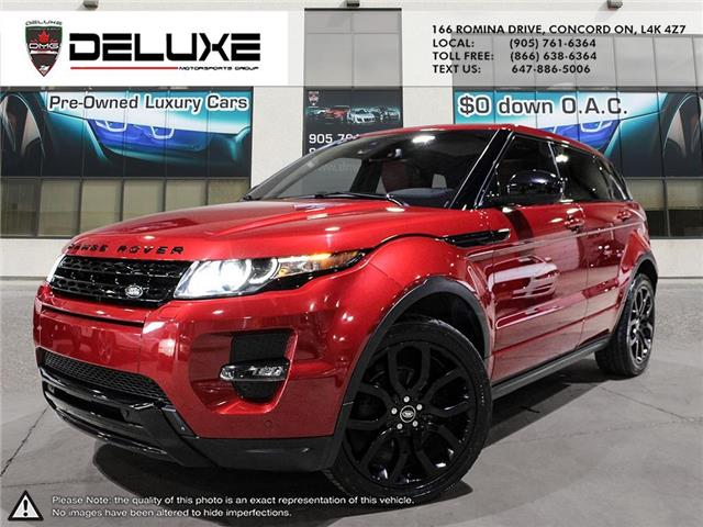 2015 Land Rover Range Rover Evoque Dynamic (Stk: D0605) in Concord - Image 1 of 26