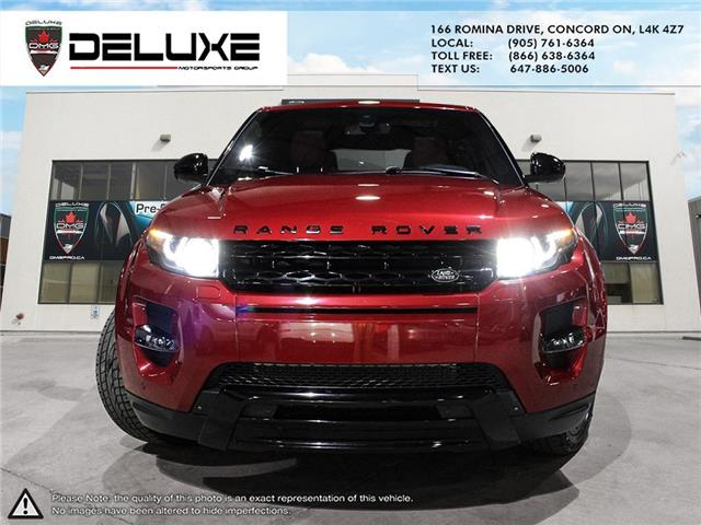 2015 Land Rover Range Rover Evoque Dynamic (Stk: D0605) in Concord - Image 2 of 26