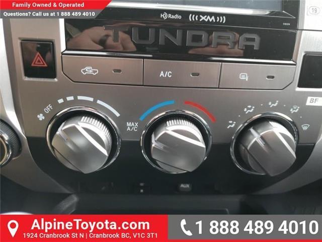 2019 Toyota Tundra SR5 Plus 5.7L V8 (Stk: X025168) in Cranbrook - Image 19 of 19