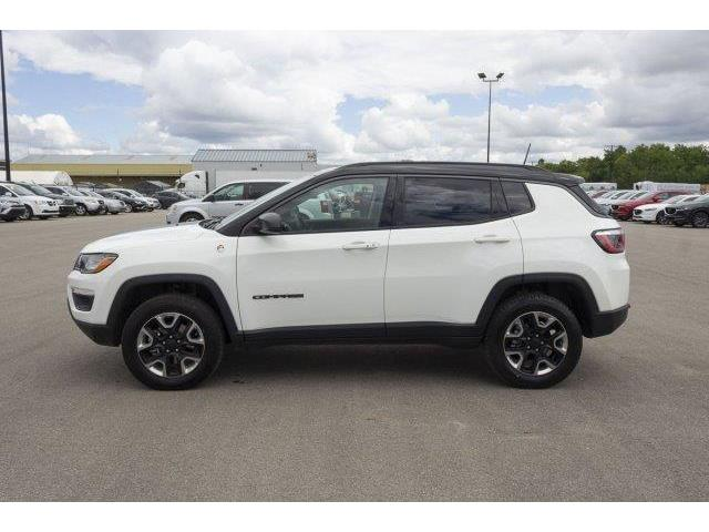 2018 Jeep Compass Trailhawk (Stk: V907) in Prince Albert - Image 8 of 11