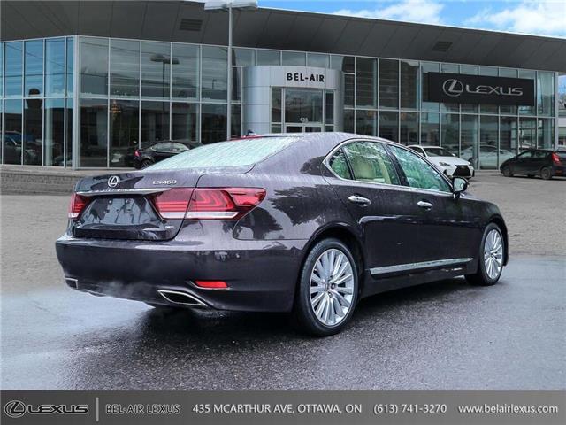 2013 Lexus LS 460 Base (Stk: JTHCL5) in Ottawa - Image 5 of 28