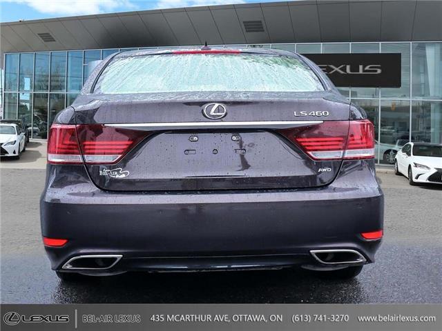 2013 Lexus LS 460 Base (Stk: JTHCL5) in Ottawa - Image 6 of 28