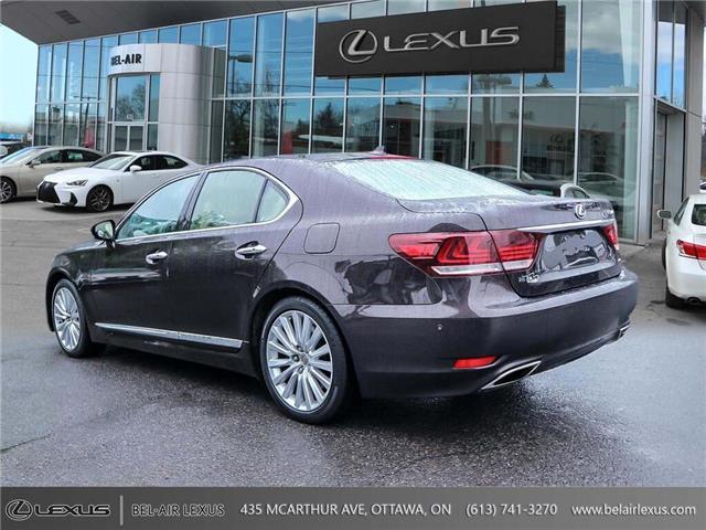 2013 Lexus LS 460 Base (Stk: JTHCL5) in Ottawa - Image 7 of 28