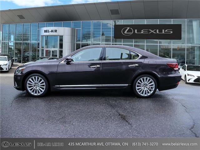 2013 Lexus LS 460 Base (Stk: JTHCL5) in Ottawa - Image 8 of 28