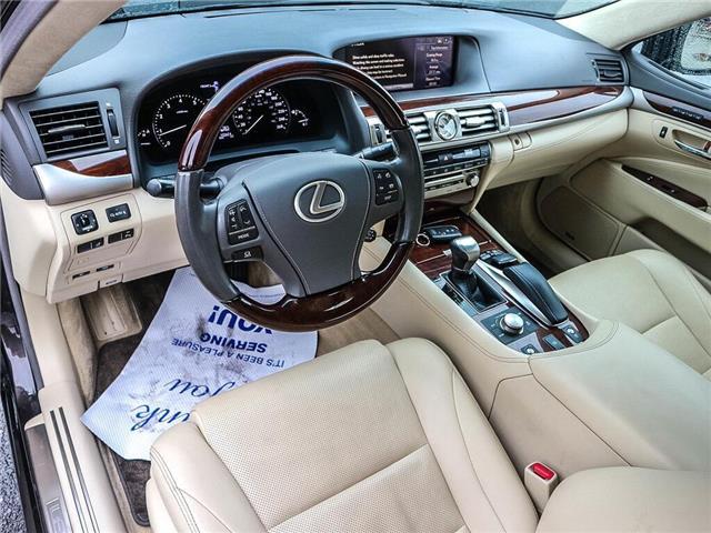 2013 Lexus LS 460 Base (Stk: JTHCL5) in Ottawa - Image 11 of 28