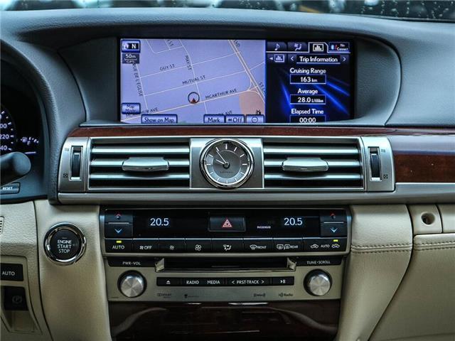 2013 Lexus LS 460 Base (Stk: JTHCL5) in Ottawa - Image 13 of 28