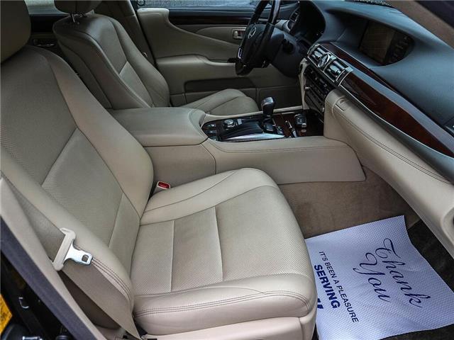 2013 Lexus LS 460 Base (Stk: JTHCL5) in Ottawa - Image 18 of 28