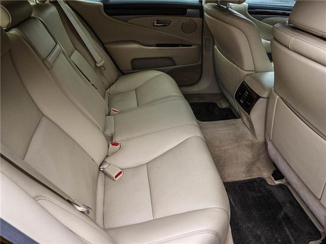 2013 Lexus LS 460 Base (Stk: JTHCL5) in Ottawa - Image 20 of 28