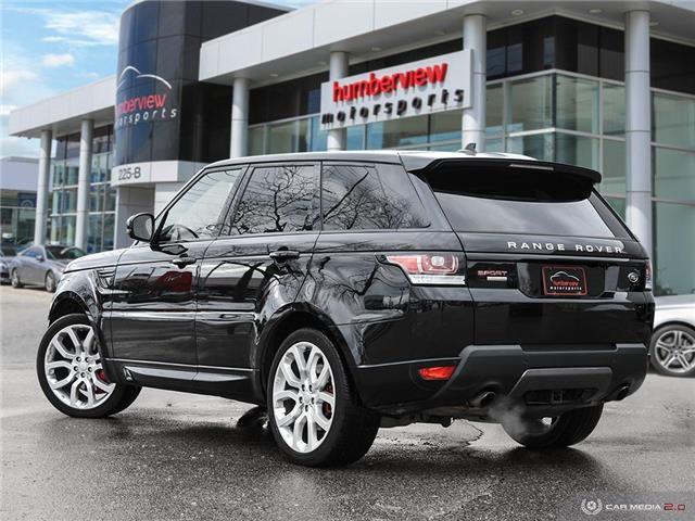 2016 Land Rover Range Rover Sport V8 Supercharged (Stk: 19HMS019) in Mississauga - Image 4 of 27