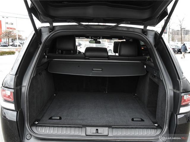 2016 Land Rover Range Rover Sport V8 Supercharged (Stk: 19HMS019) in Mississauga - Image 11 of 27