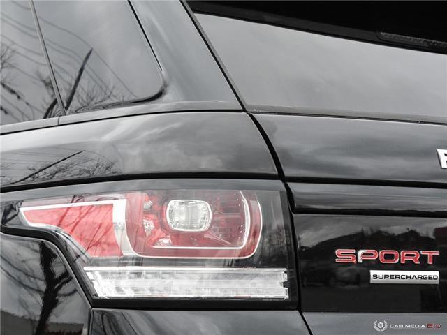 2016 Land Rover Range Rover Sport V8 Supercharged (Stk: 19HMS019) in Mississauga - Image 12 of 27