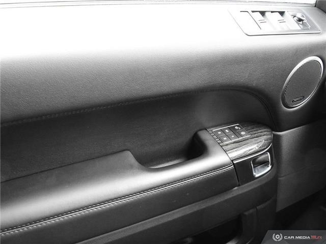 2016 Land Rover Range Rover Sport V8 Supercharged (Stk: 19HMS019) in Mississauga - Image 17 of 27