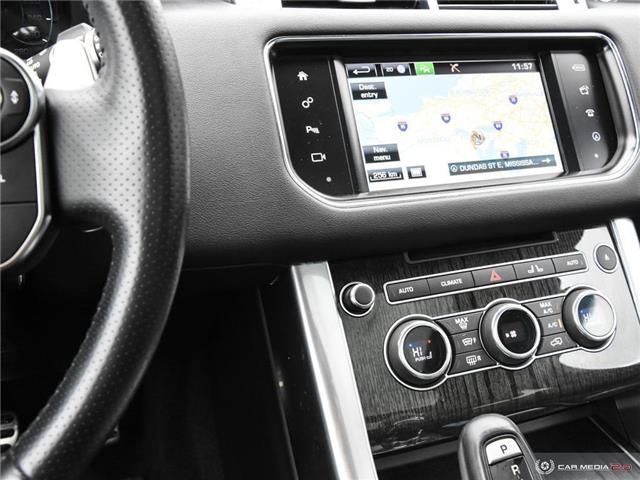 2016 Land Rover Range Rover Sport V8 Supercharged (Stk: 19HMS019) in Mississauga - Image 20 of 27