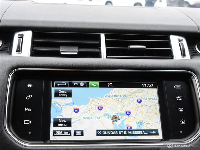 2016 Land Rover Range Rover Sport V8 Supercharged (Stk: 19HMS019) in Mississauga - Image 21 of 27