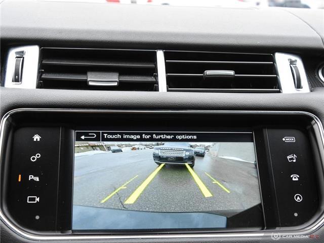 2016 Land Rover Range Rover Sport V8 Supercharged (Stk: 19HMS019) in Mississauga - Image 27 of 27