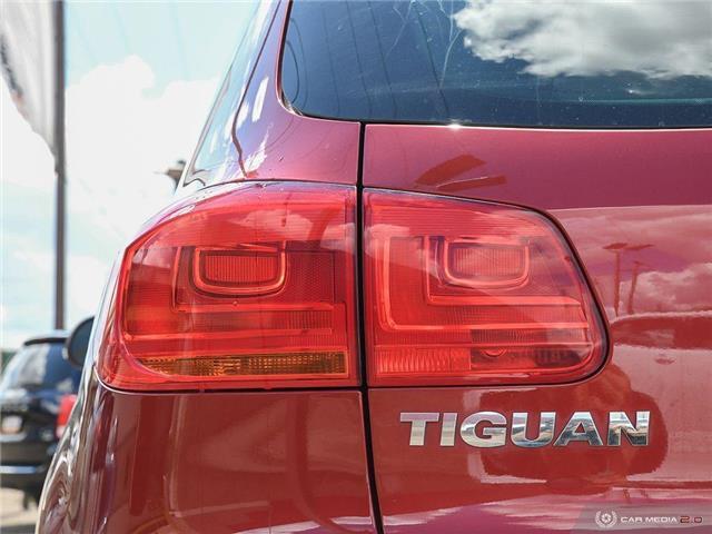2016 Volkswagen Tiguan Special Edition (Stk: A2874) in Saskatoon - Image 11 of 27