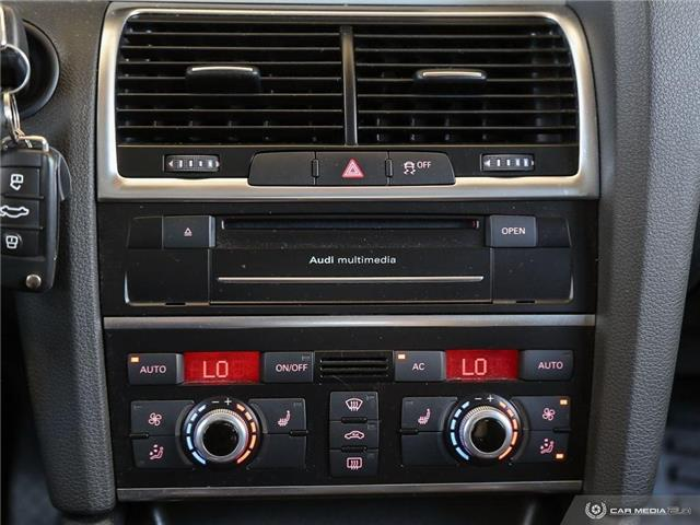 2012 Audi Q7 3.0 TDI Premium Plus (Stk: ) in Bolton - Image 21 of 29