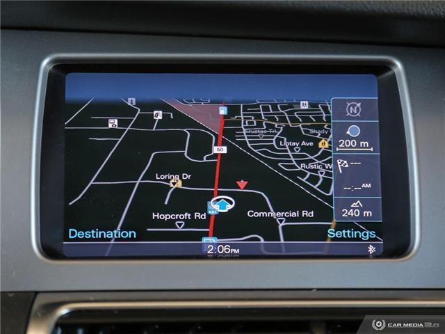 2012 Audi Q7 3.0 TDI Premium Plus (Stk: ) in Bolton - Image 22 of 29