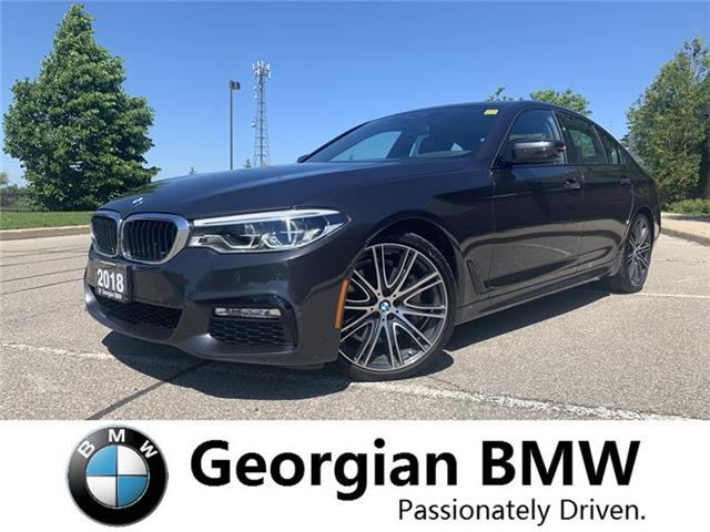 2018 BMW 540i xDrive (Stk: P1513) in Barrie - Image 1 of 19