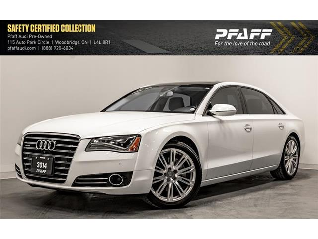 2014 Audi A8 L TDI (Stk: T16789B) in Woodbridge - Image 1 of 22