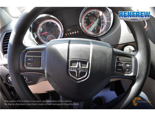 2019 Dodge Grand Caravan CVP/SXT (Stk: K281) in Renfrew - Image 12 of 20