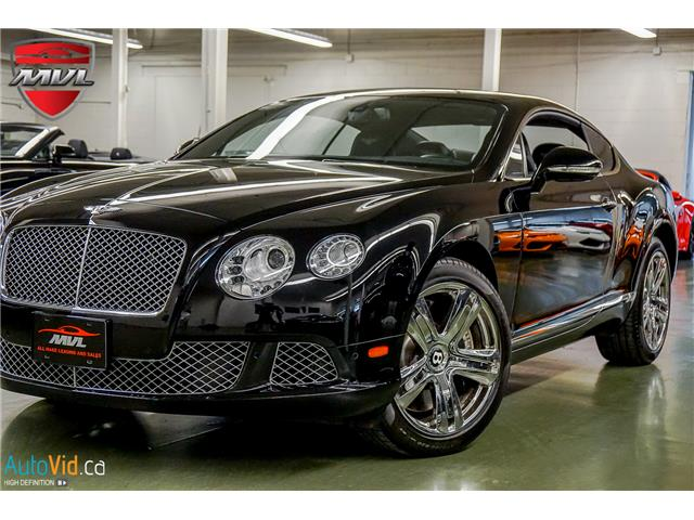 2012 Bentley Continental GT W12 (Stk: ) in Oakville - Image 1 of 34