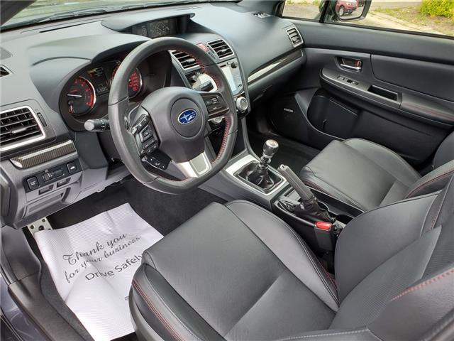 2016 Subaru WRX Sport-tech Package (Stk: 19S1095A) in Whitby - Image 11 of 26