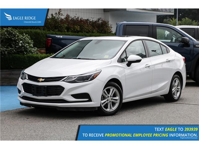 2018 Chevrolet Cruze LT Auto (Stk: 189513) in Coquitlam - Image 1 of 17