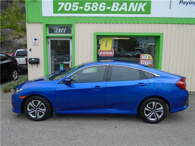 2017 Honda Civic LX (Stk: ) in Sudbury - Image 1 of 3