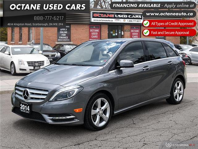 2014 Mercedes-Benz B-Class Sports Tourer (Stk: ) in Scarborough - Image 1 of 24
