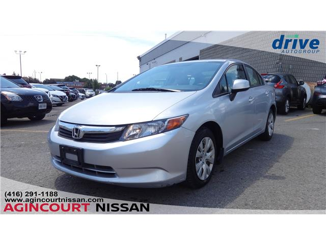 2012 Honda Civic LX (Stk: U12513RA) in Scarborough - Image 1 of 17