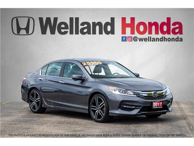 2017 Honda Accord Sport (Stk: U19227) in Welland - Image 1 of 30