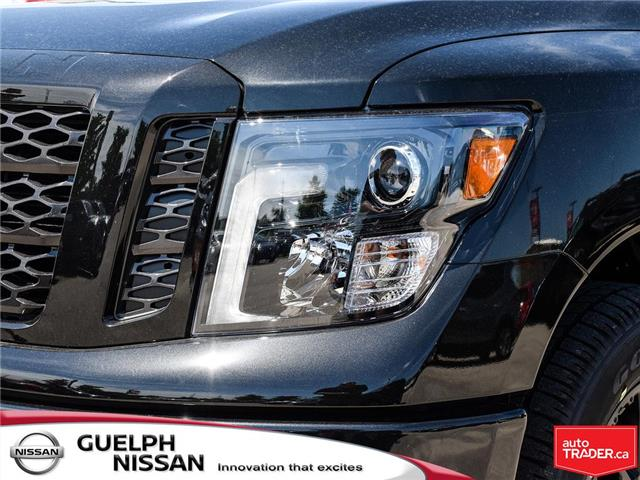 2019 Nissan Titan SV Midnight Edition (Stk: N20189) in Guelph - Image 9 of 27