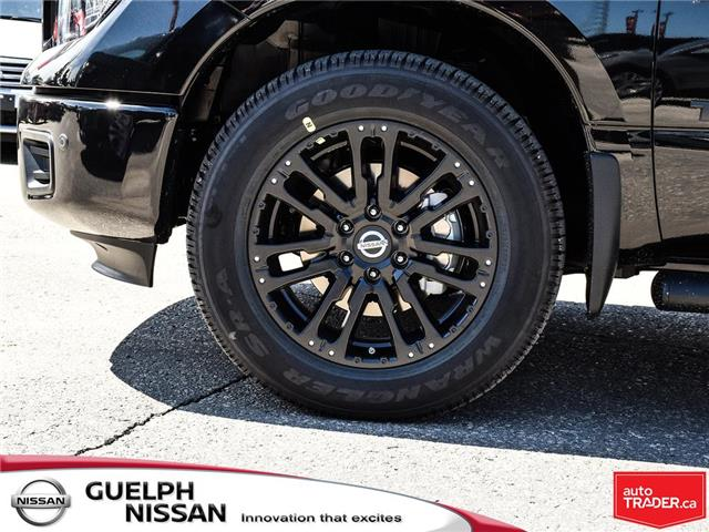 2019 Nissan Titan SV Midnight Edition (Stk: N20189) in Guelph - Image 10 of 27