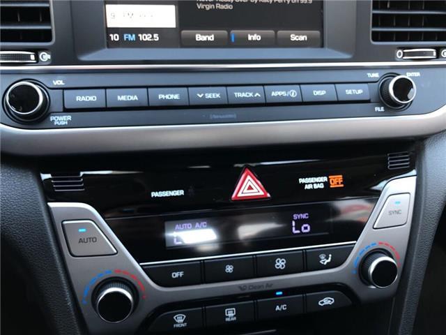 2018 Hyundai Elantra GLS-SUNROOF AND MUCH MORE.... (Stk: U3052) in Scarborough - Image 16 of 21