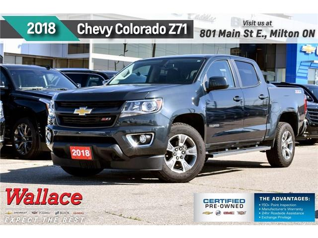 2018 Chevrolet Colorado Z71/V6/TRAILR PK/HTD STS/STEPS/17s/1-OWNR (Stk: PL5228) in Milton - Image 1 of 27